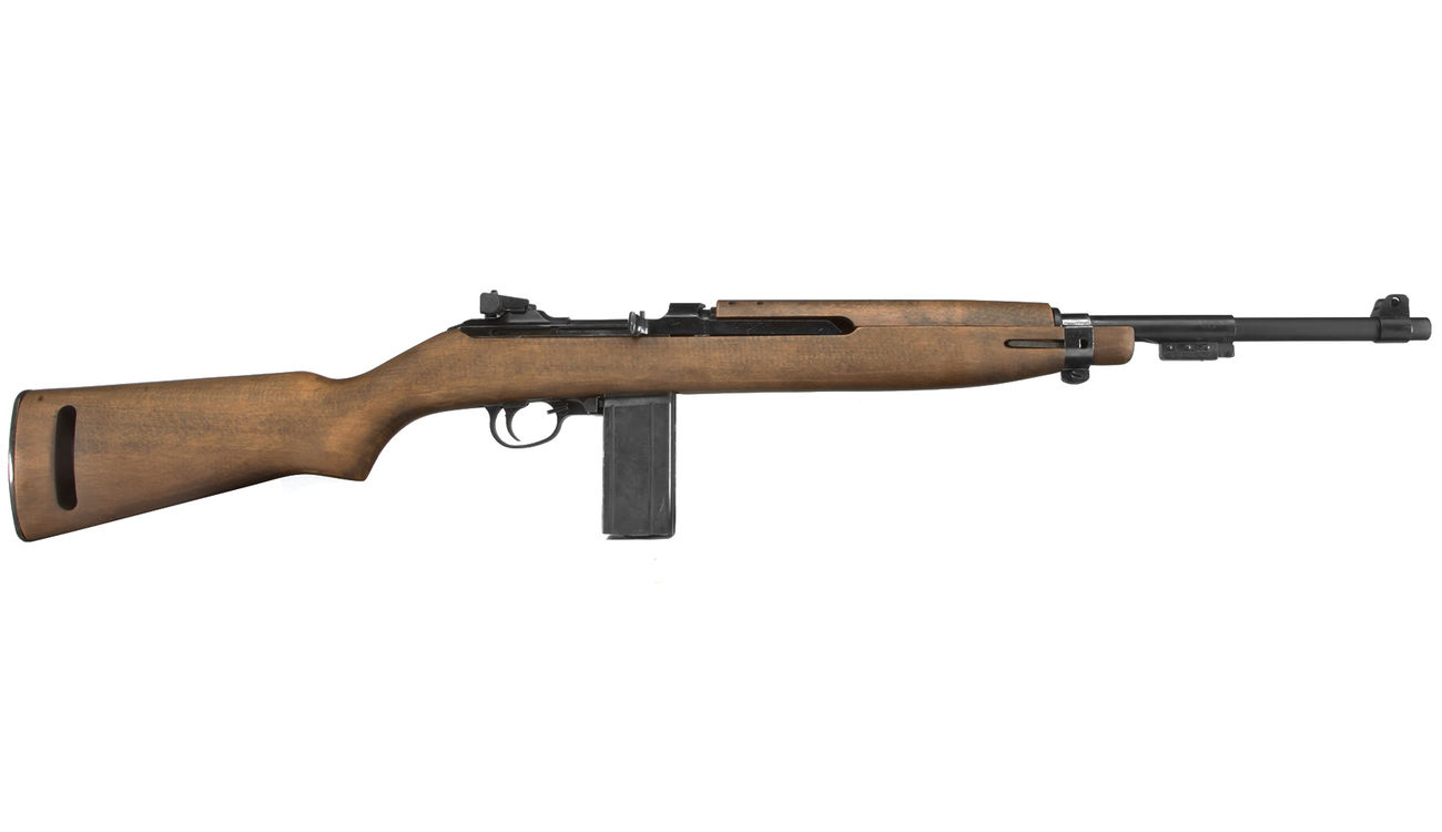 King Arms M1 Carbine Vollmetall Echtholz CO2 BlowBack 6mm BB 2