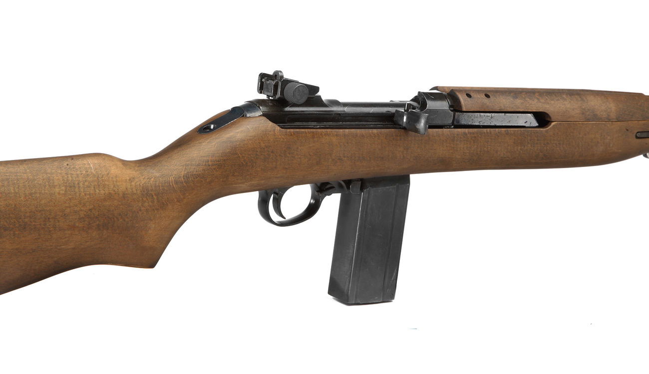King Arms M1 Carbine Vollmetall Echtholz CO2 BlowBack 6mm BB 4