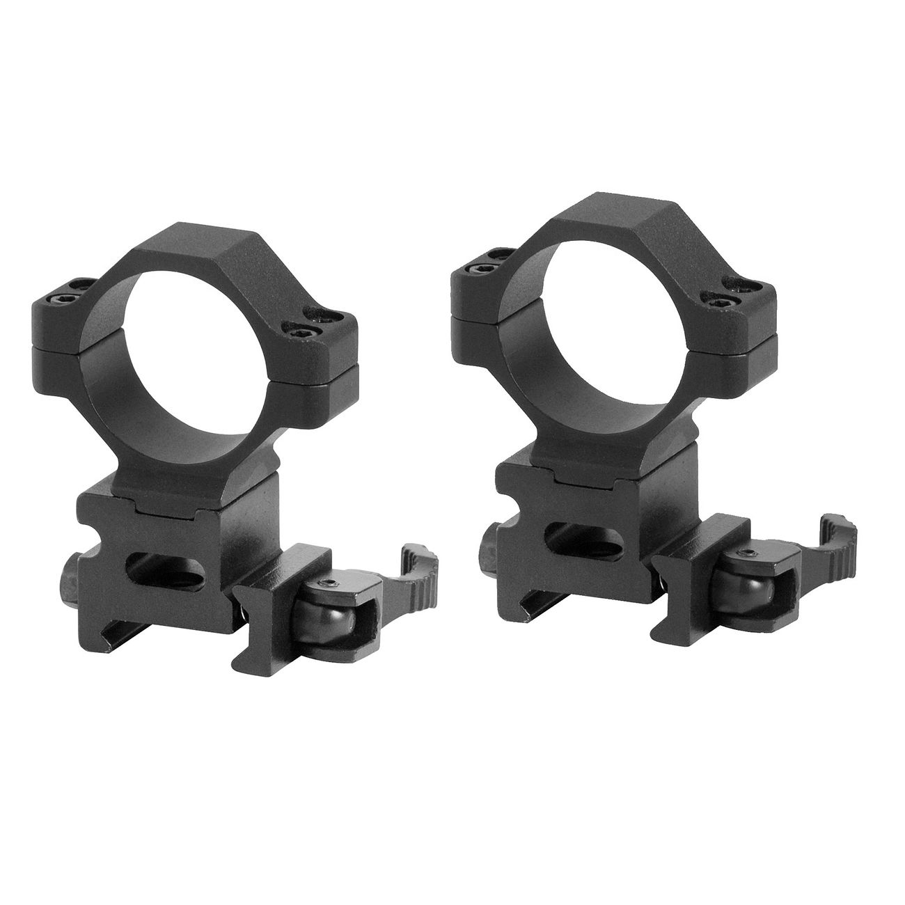 Swiss Arms Schnellmontageringe 25,4 & 30 mm 2er Pack 0