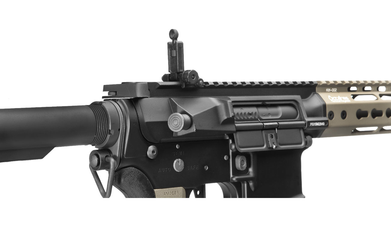 Ares Octarms X Amoeba M4-KM13 Pro Vollmetall EFCS-System Gen. 3 S-AEG 6mm BB Dark Earth 6