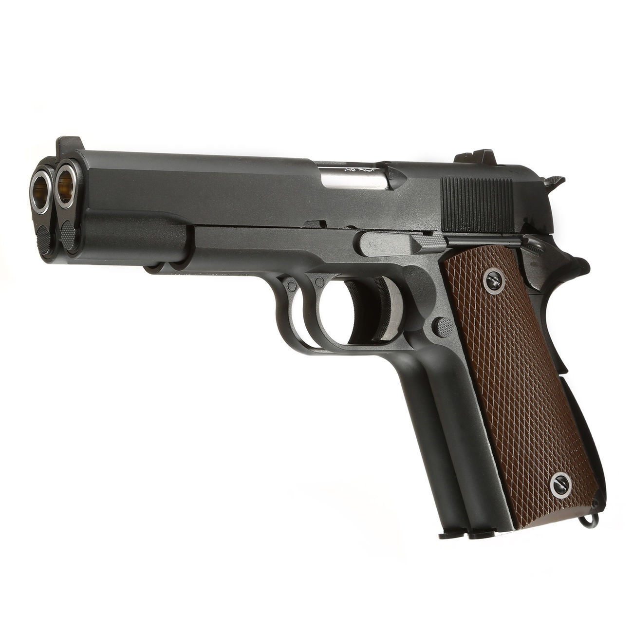 Wei-ETech M1911 Double Barrel Vollmetall GBB 6mm BB schwarz 0