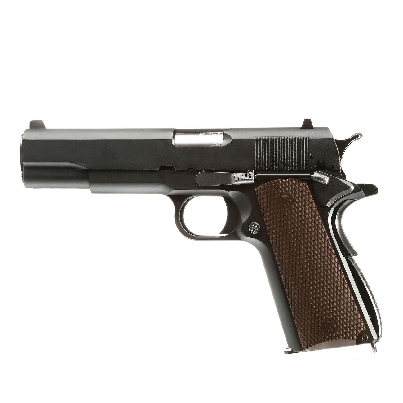 Wei-ETech M1911 Double Barrel Vollmetall GBB 6mm BB schwarz 5