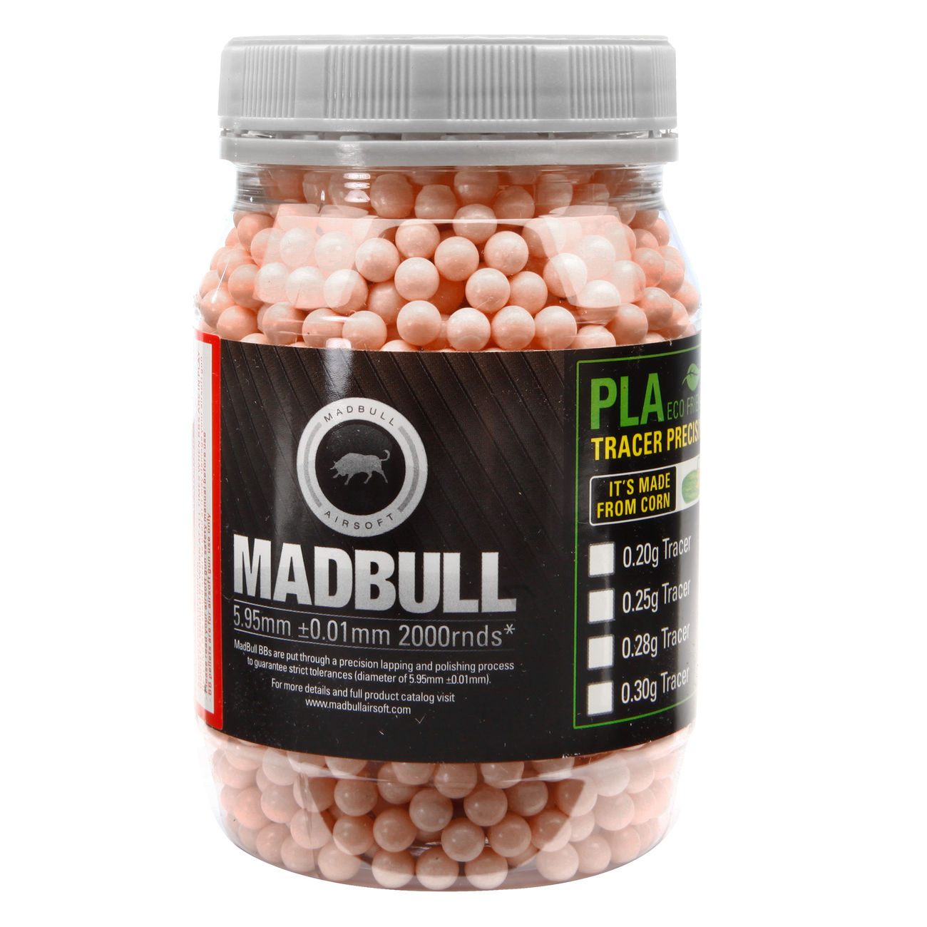 MadBull Killer Red Tracer BBs 0.20g 2.000er Container rot 0