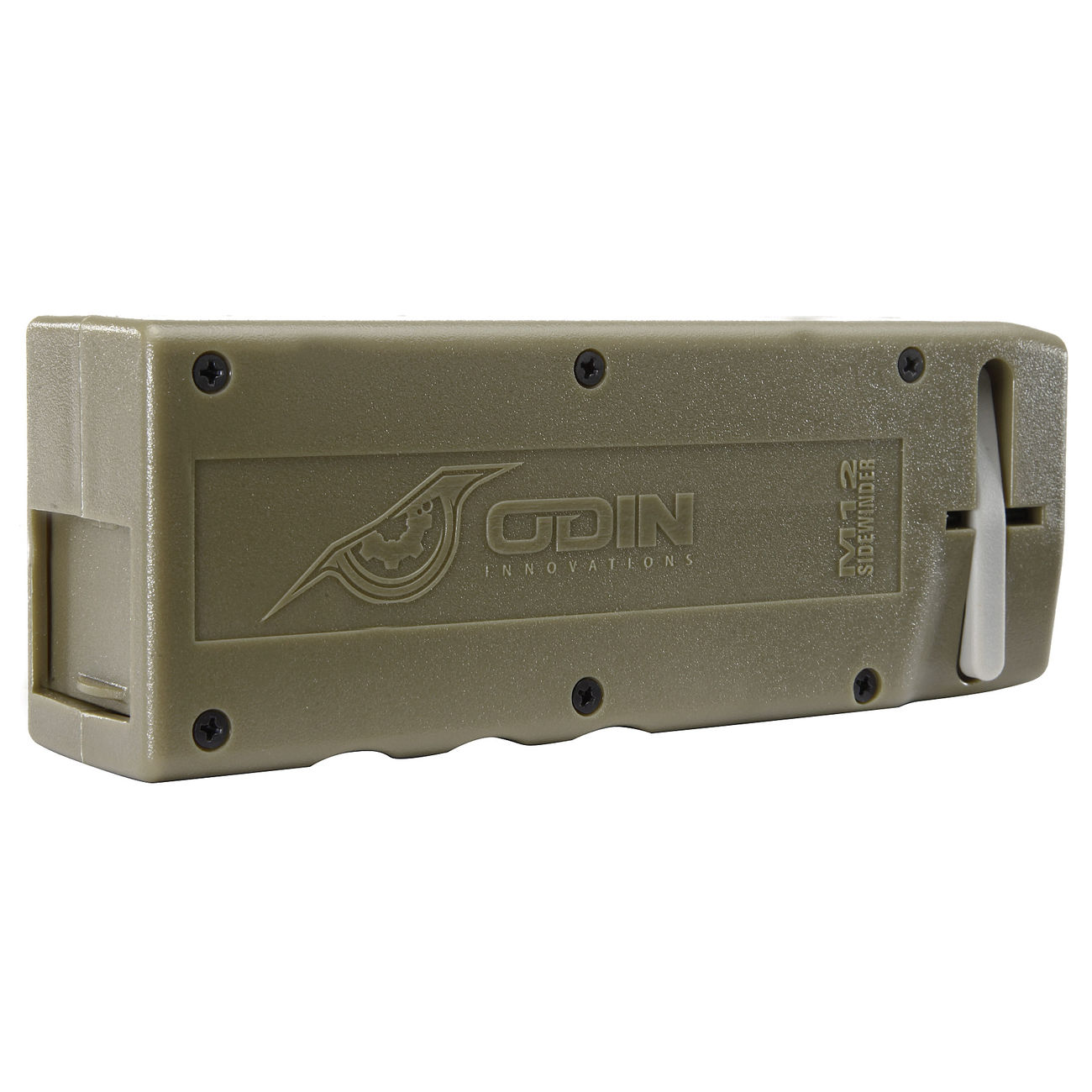 Odin Innovations M12 Sidewinder Speedloader f. M4 AEG / S-AEG Magazine Dark Earth 0