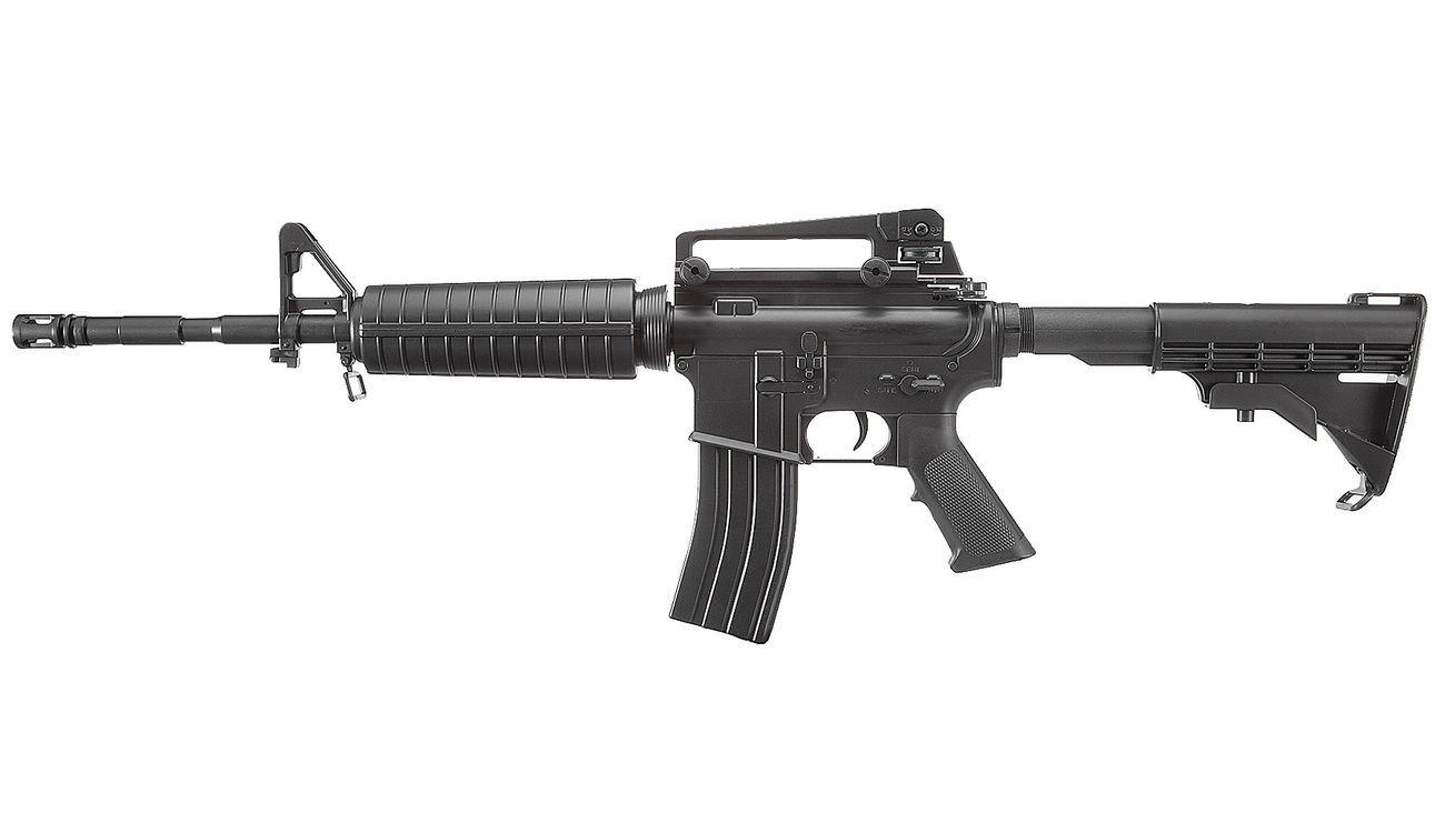 Well M4A1 Carbine Komplettset AEG 6mm BB schwarz 1