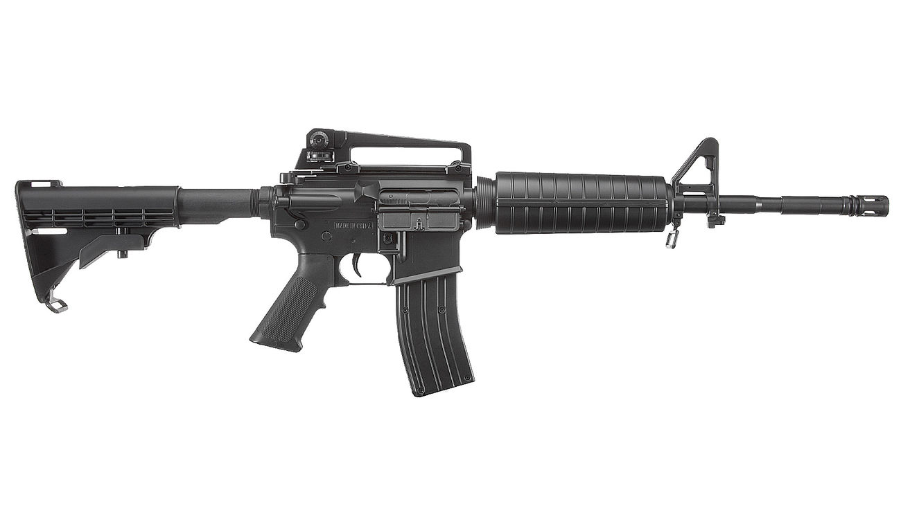 Well M4A1 Carbine Komplettset AEG 6mm BB schwarz 2