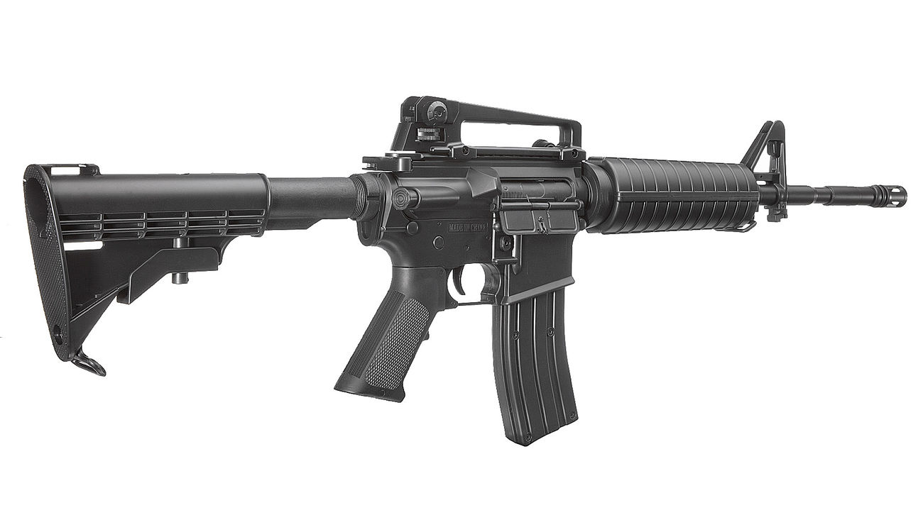 Well M4A1 Carbine Komplettset AEG 6mm BB schwarz 3