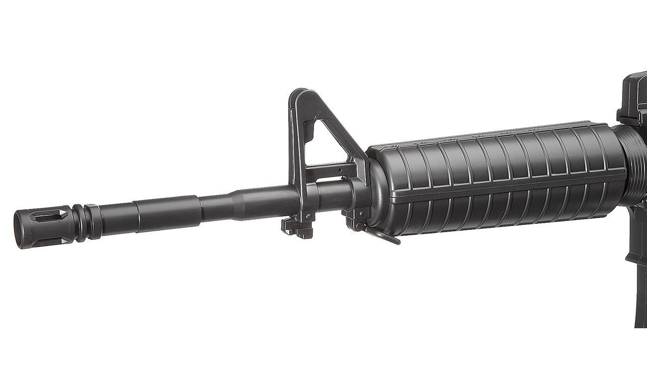 Well M4A1 Carbine Komplettset AEG 6mm BB schwarz 4