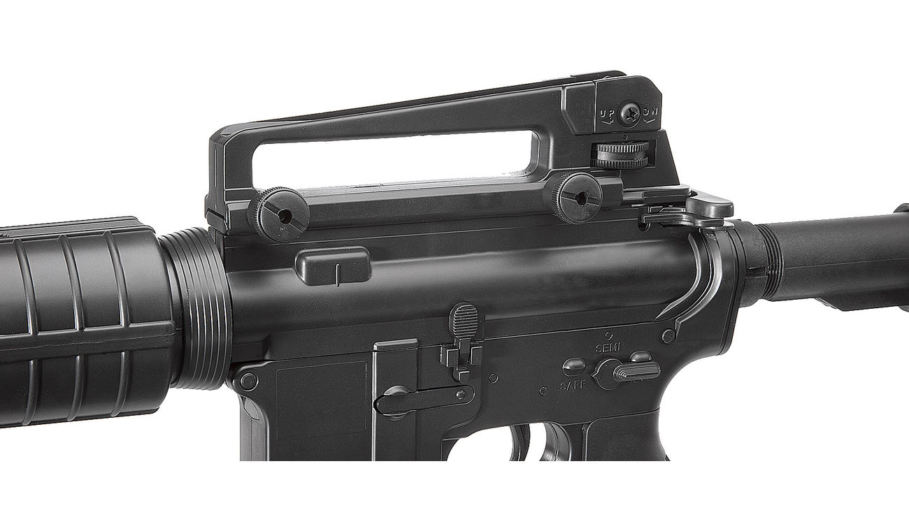 Well M4A1 Carbine Komplettset AEG 6mm BB schwarz 5