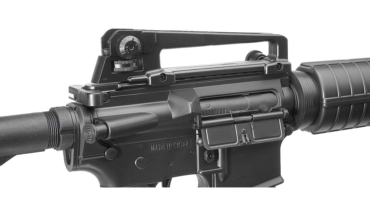 Well M4A1 Carbine Komplettset AEG 6mm BB schwarz 6