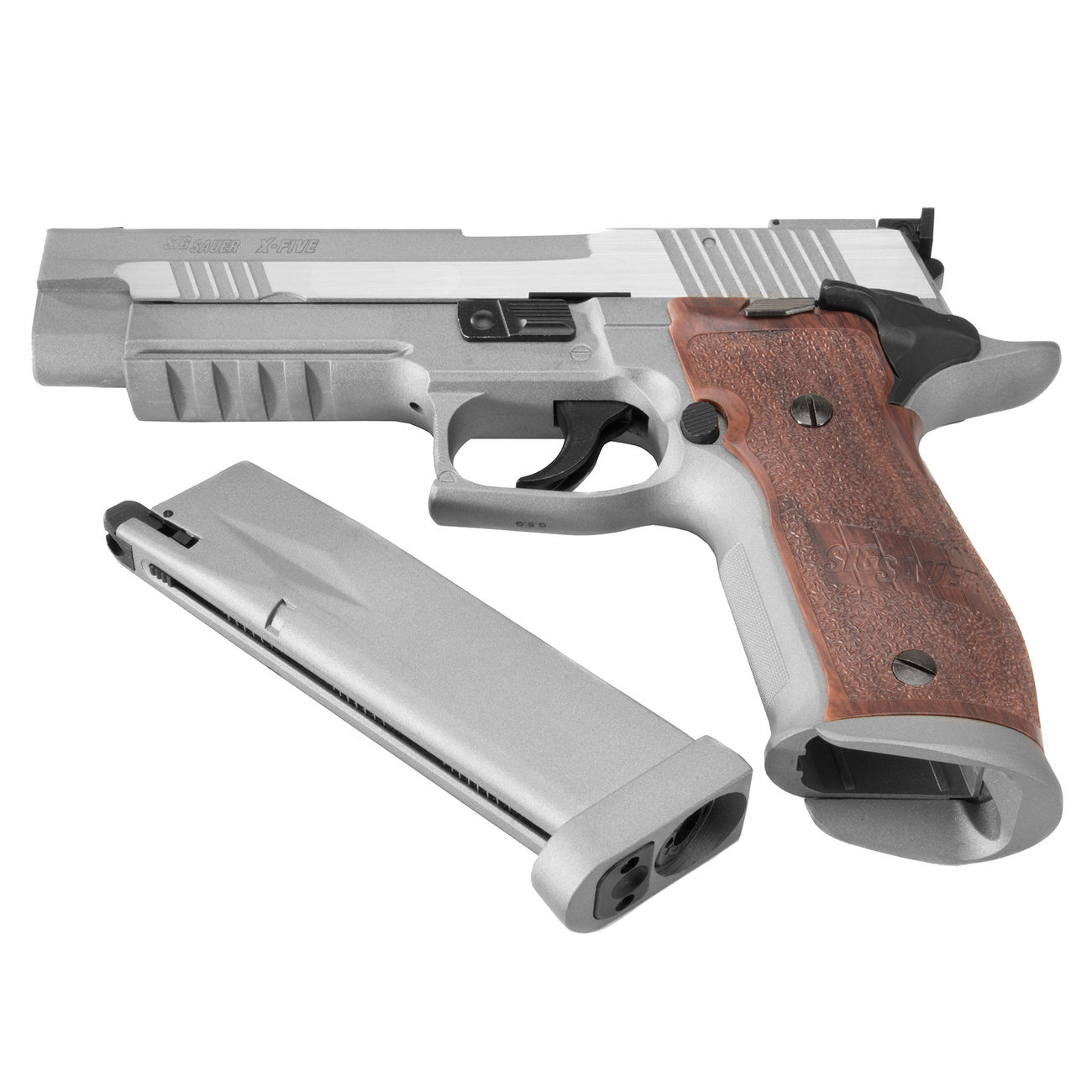 Cybergun Sig Sauer P226 X-Five Vollmetall CO2 BlowBack 6mm ...