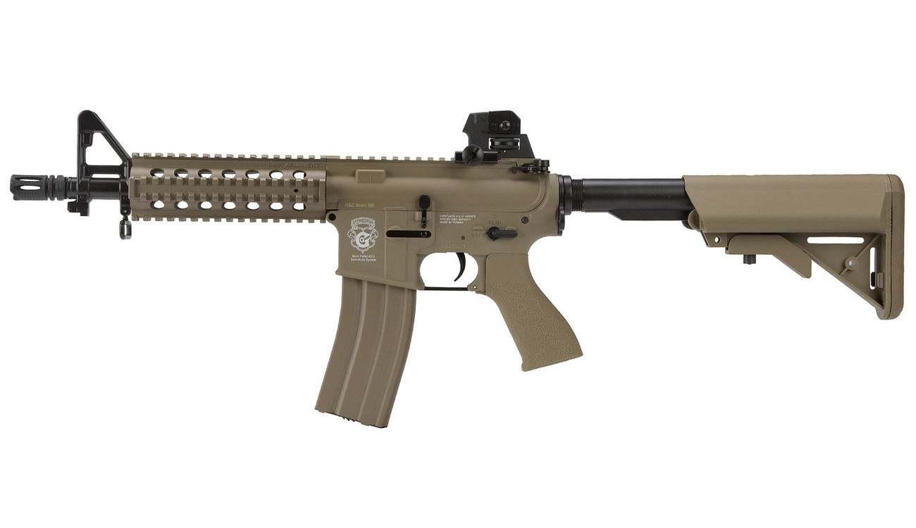 G&G GR15 RIS Raider S BlowBack Komplettset AEG 6mm BB Desert Tan 1