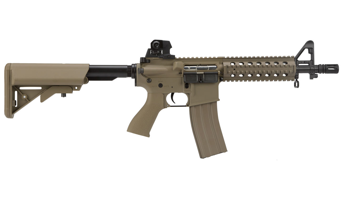 G&G GR15 RIS Raider S BlowBack Komplettset AEG 6mm BB Desert Tan 2