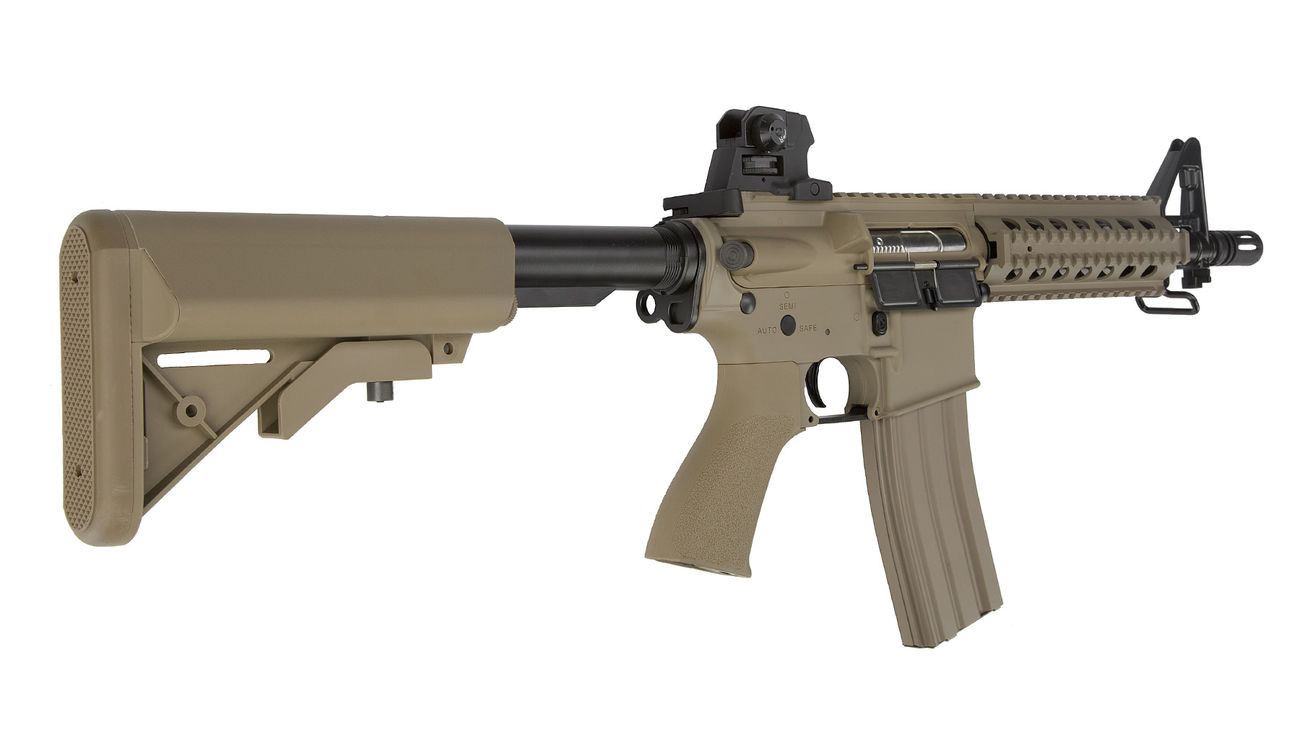 G&G GR15 RIS Raider S BlowBack Komplettset AEG 6mm BB Desert Tan 3