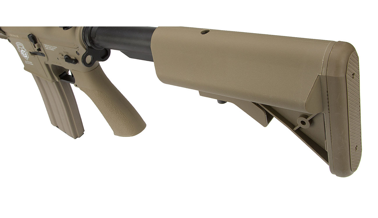 G&G GR15 RIS Raider S BlowBack Komplettset AEG 6mm BB Desert Tan 6