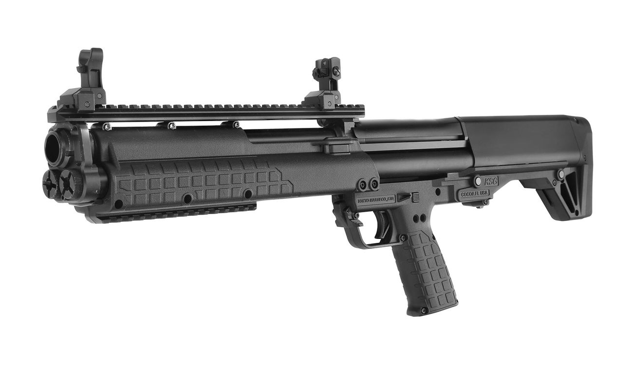 tokyo marui ksg bullpup pump action gas shotgun 6mm bb schwarz g nstig kaufen kotte zeller. Black Bedroom Furniture Sets. Home Design Ideas