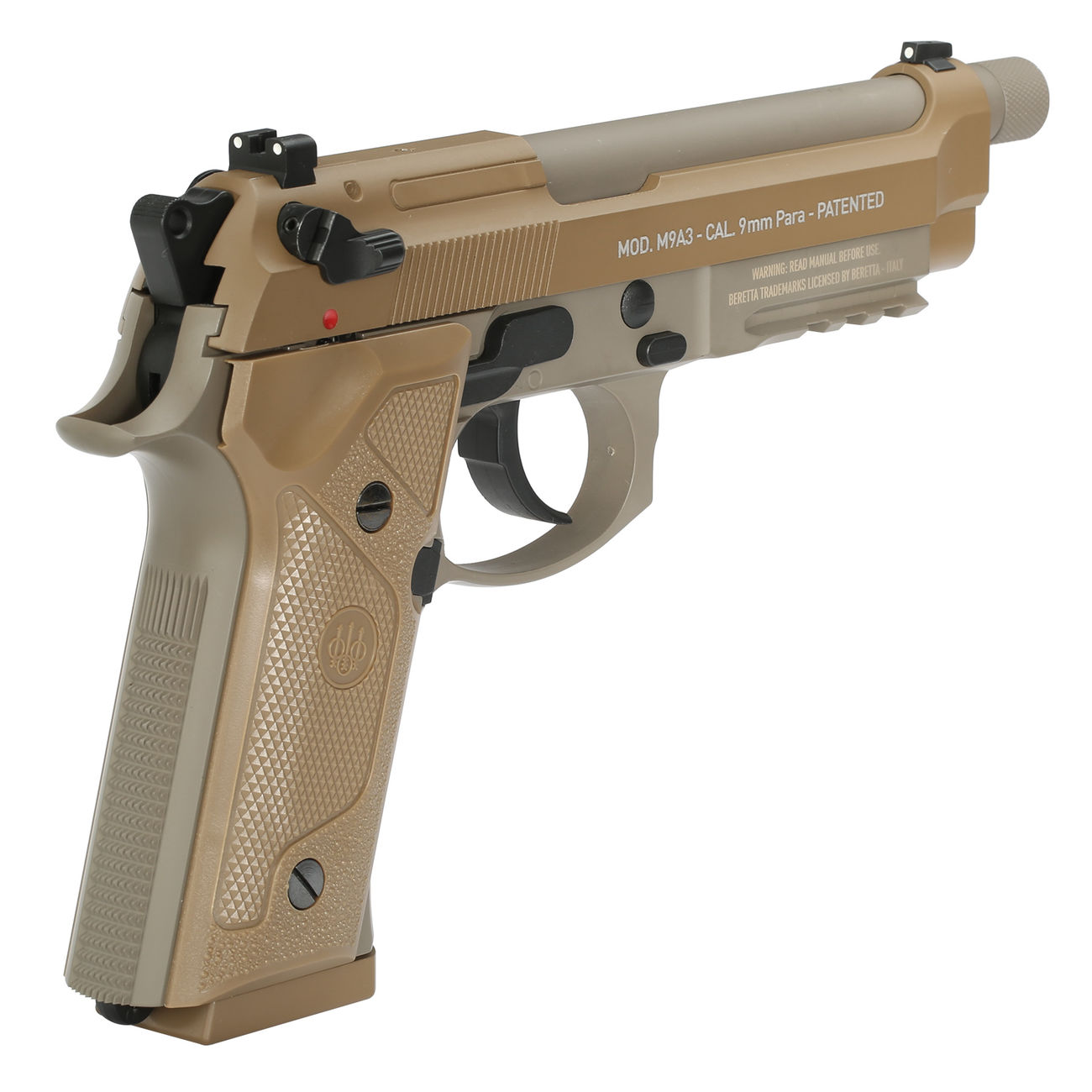 Beretta M9a1 Checkering Back – Jerusalem House