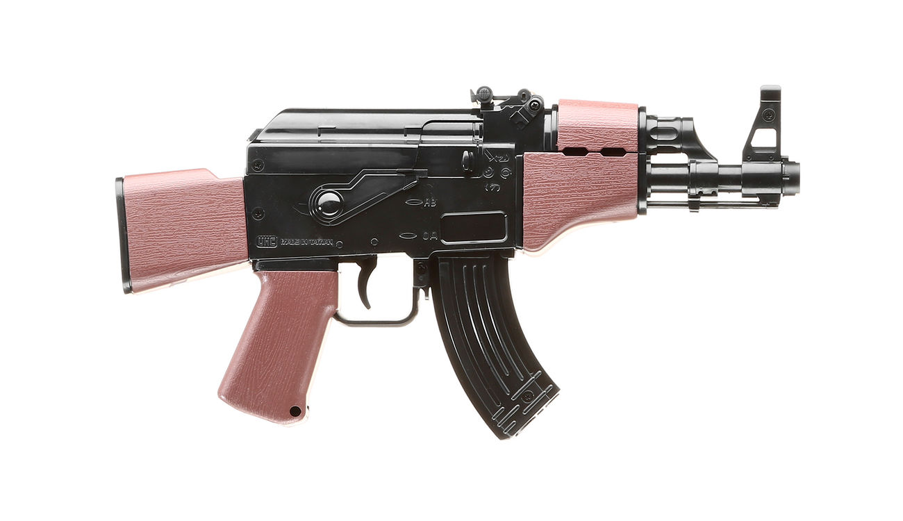 UHC Mini AK47 Kidz Action-Rifle AEG 6mm BB schwarz / braun 2