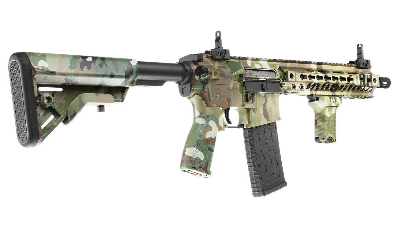Evolution-Dytac Lone Star MK4 SMR 10.5 Zoll Vollmetall S-AEG 6mm BB Multicam 3