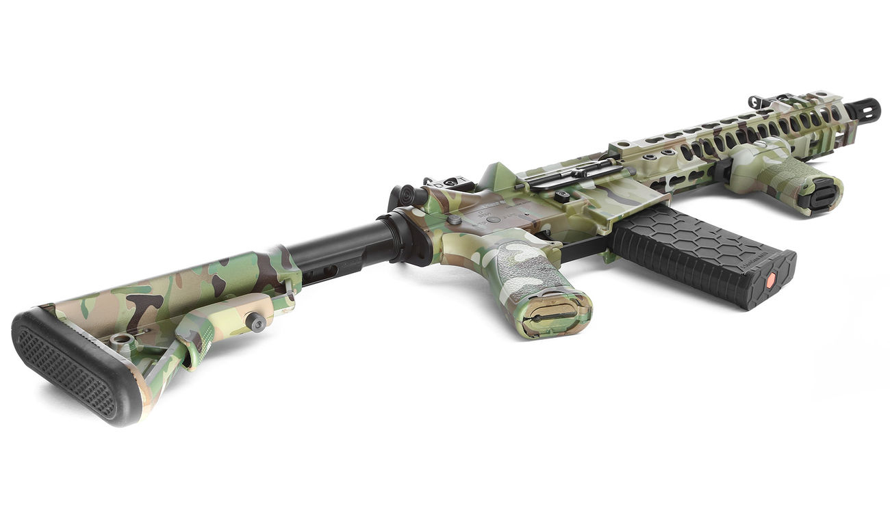 Evolution-Dytac Lone Star MK4 SMR 10.5 Zoll Vollmetall S-AEG 6mm BB Multicam 4