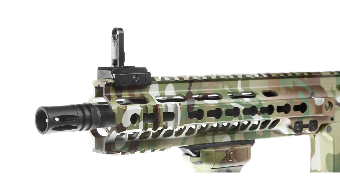 Evolution-Dytac Lone Star MK4 SMR 10.5 Zoll Vollmetall S-AEG 6mm BB Multicam 5