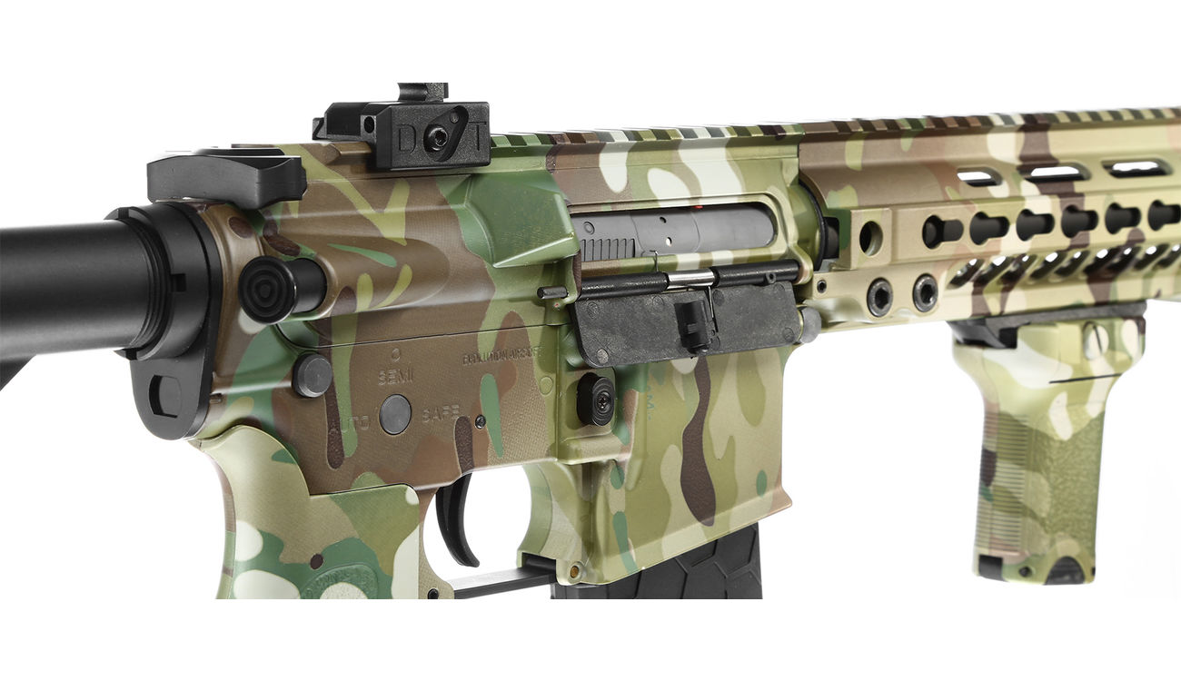 Evolution-Dytac Lone Star MK4 SMR 10.5 Zoll Vollmetall S-AEG 6mm BB Multicam 8