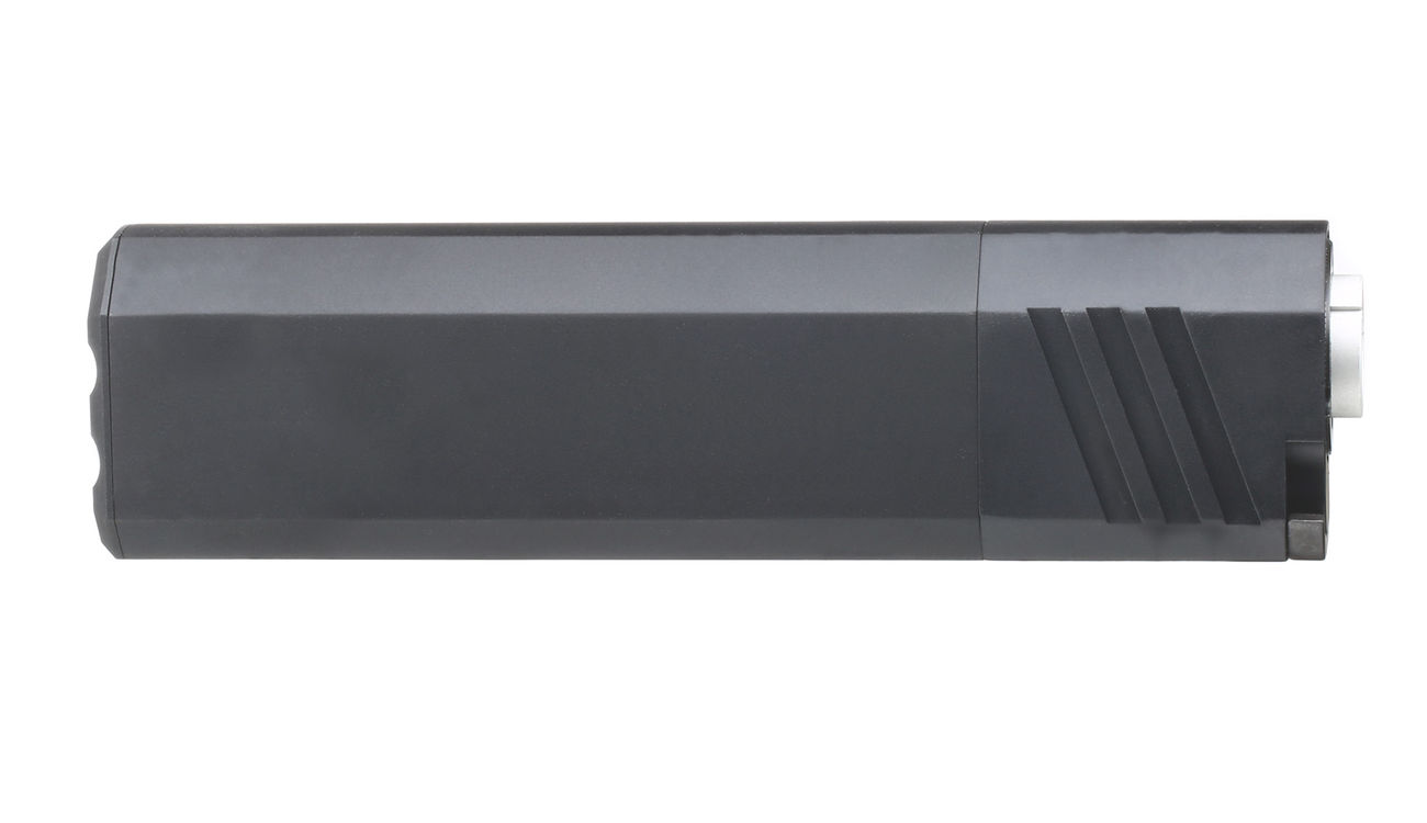 SilencerCo Airsoft Osprey 45-K Aluminium Mock Suppressor schwarz 14mm- 2