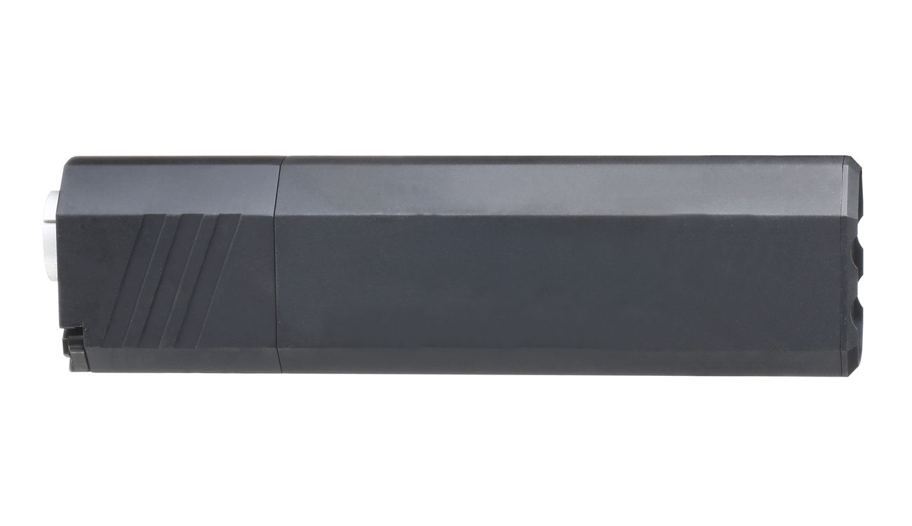 SilencerCo Airsoft Osprey 45-K Aluminium Mock Suppressor schwarz 14mm- 3