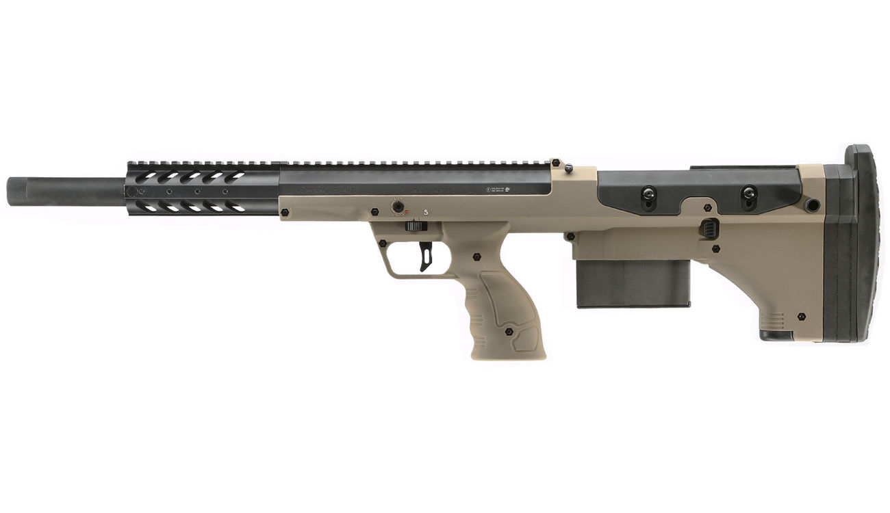 Silverback Desert Tech SRS-A1 Covert Sport 20 Zoll Pull-Bolt Bullpup Springer 6mm BB Flat Dark Earth - 2018 Version Gen. 3 1