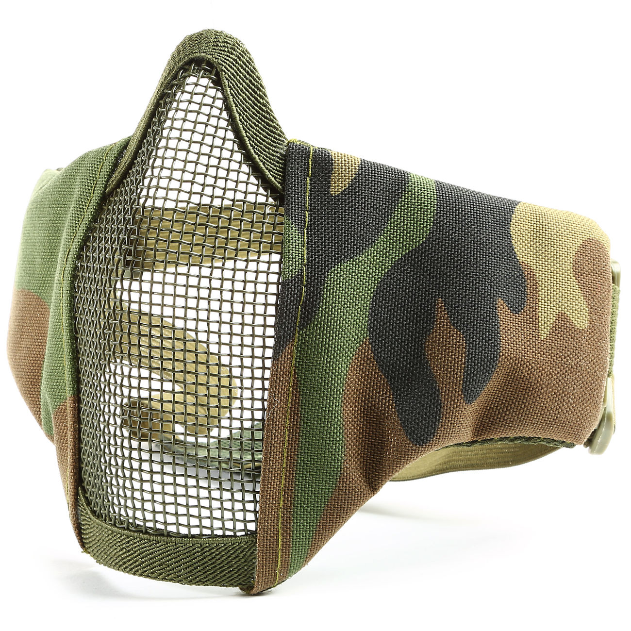101 INC. Airsoft Gittermaske woodland 2
