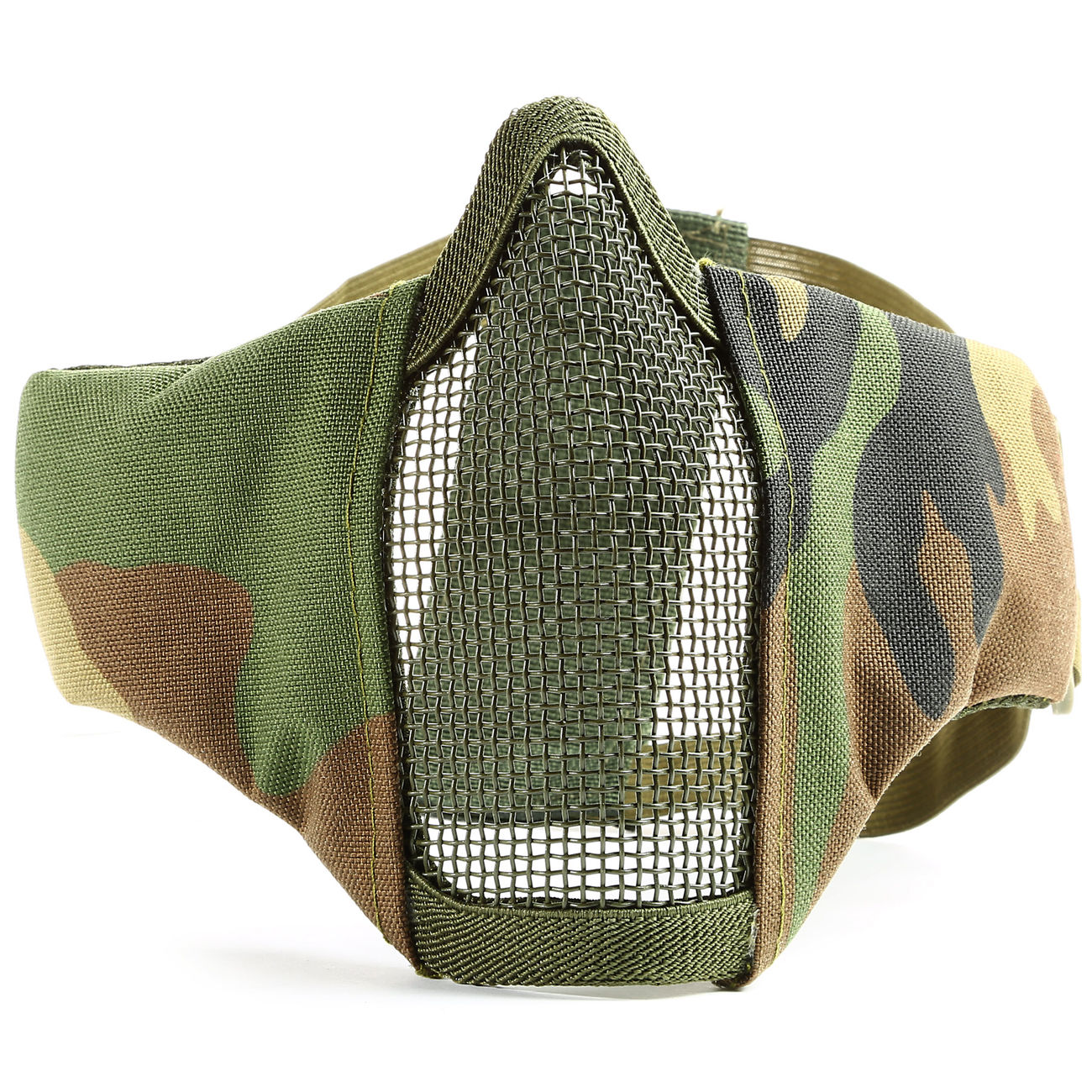 101 INC. Airsoft Gittermaske woodland 3