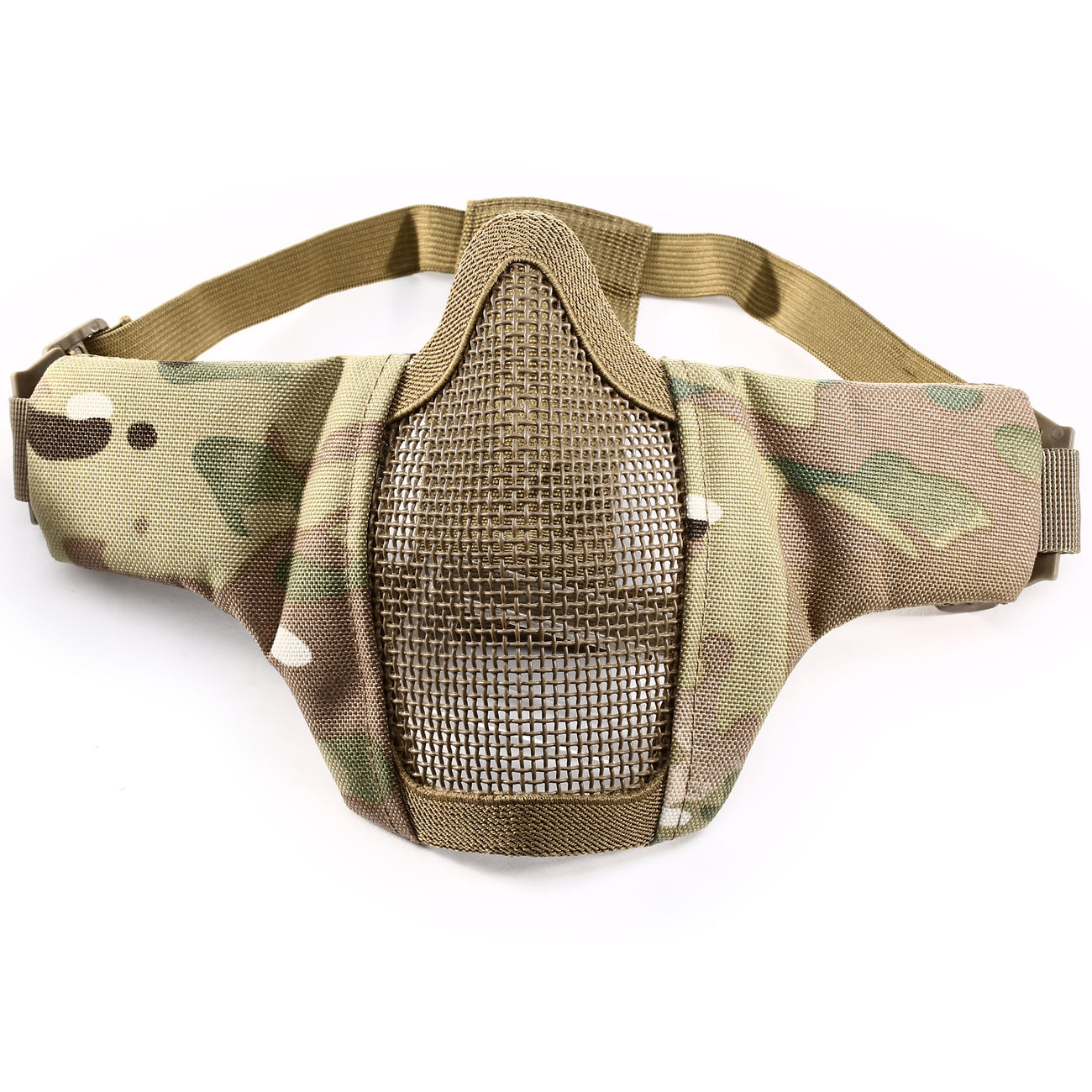 WoSport WST Airsoft Gittermaske Lower Face MC-Camo 2
