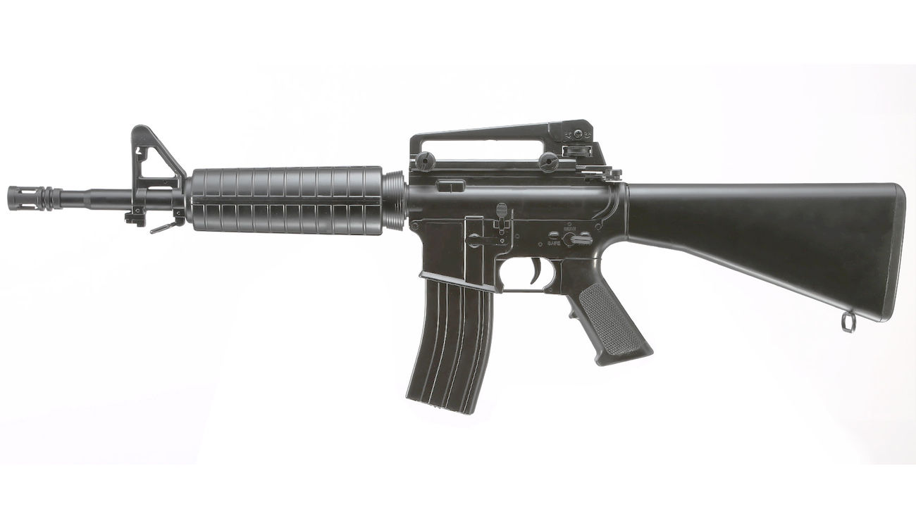 Well M4A1 Rifle Komplettset AEG 6mm BB schwarz 1