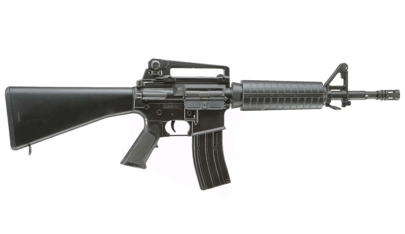 Well M4A1 Rifle Komplettset AEG 6mm BB schwarz 2
