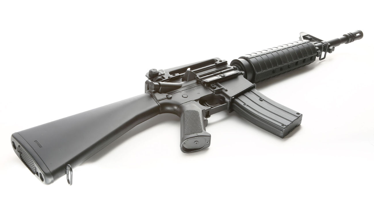 Well M4A1 Rifle Komplettset AEG 6mm BB schwarz 4