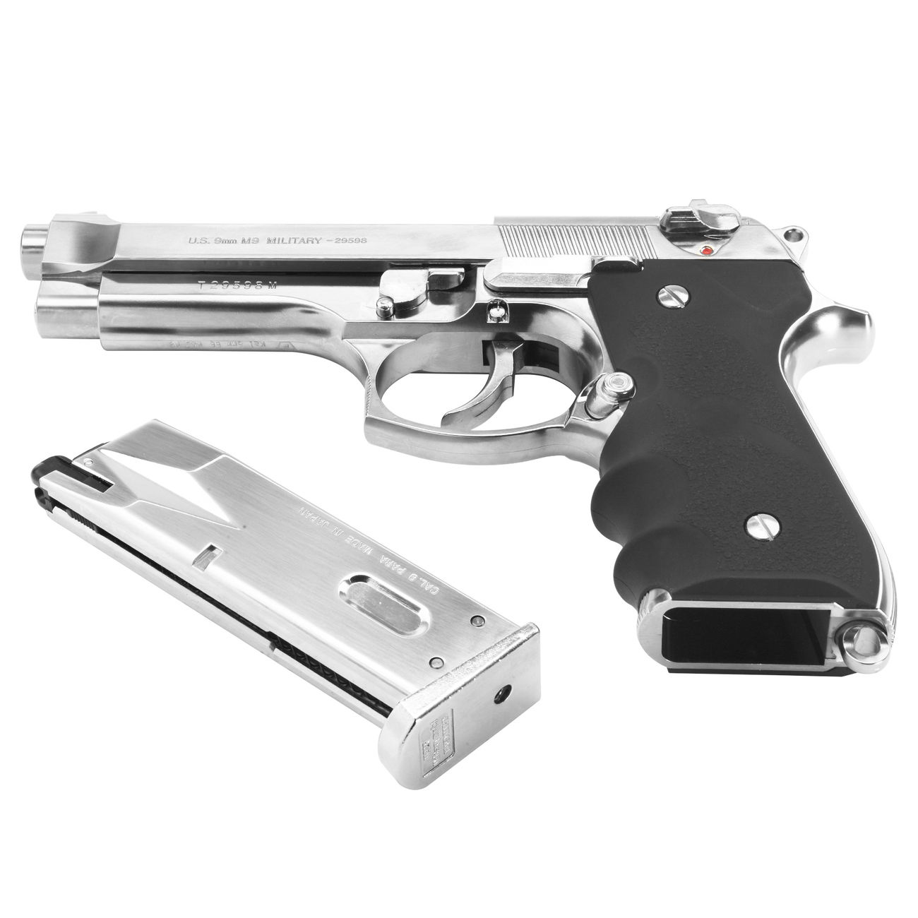 Tokyo Marui M92F Gas-Blow-Back 6mm BB Chrome Stainless Finish 4