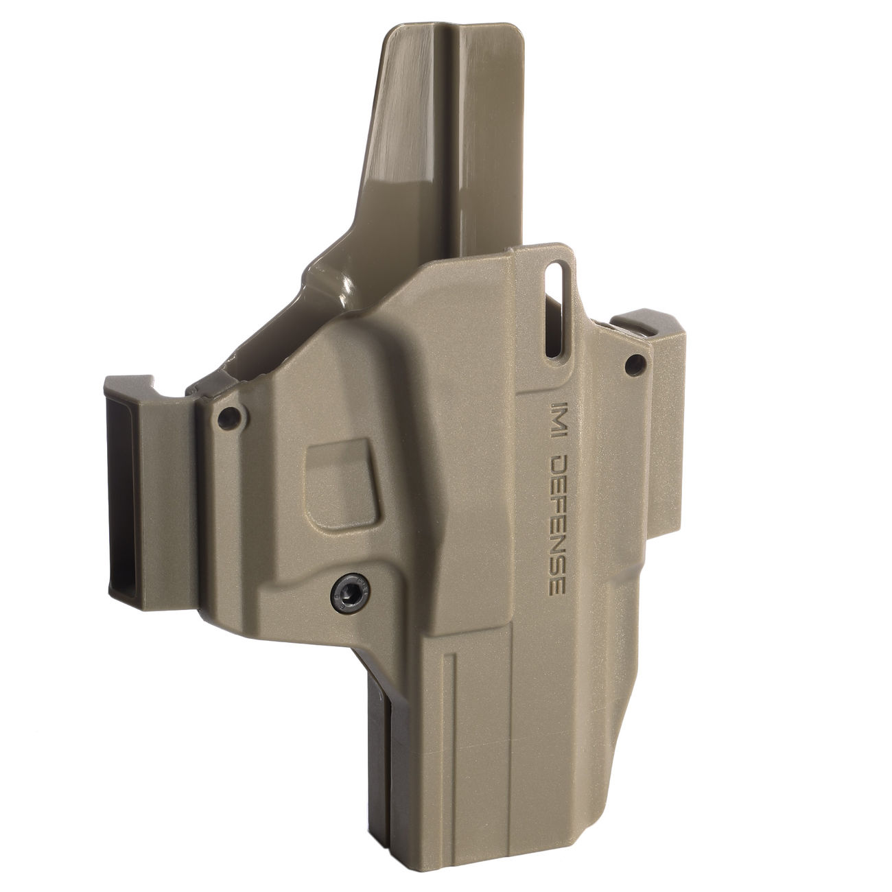 IMI Defense MORF X3 Polymer Holster IWB / OWB / Paddle für Glock 17 Rechts / Links Tan 4