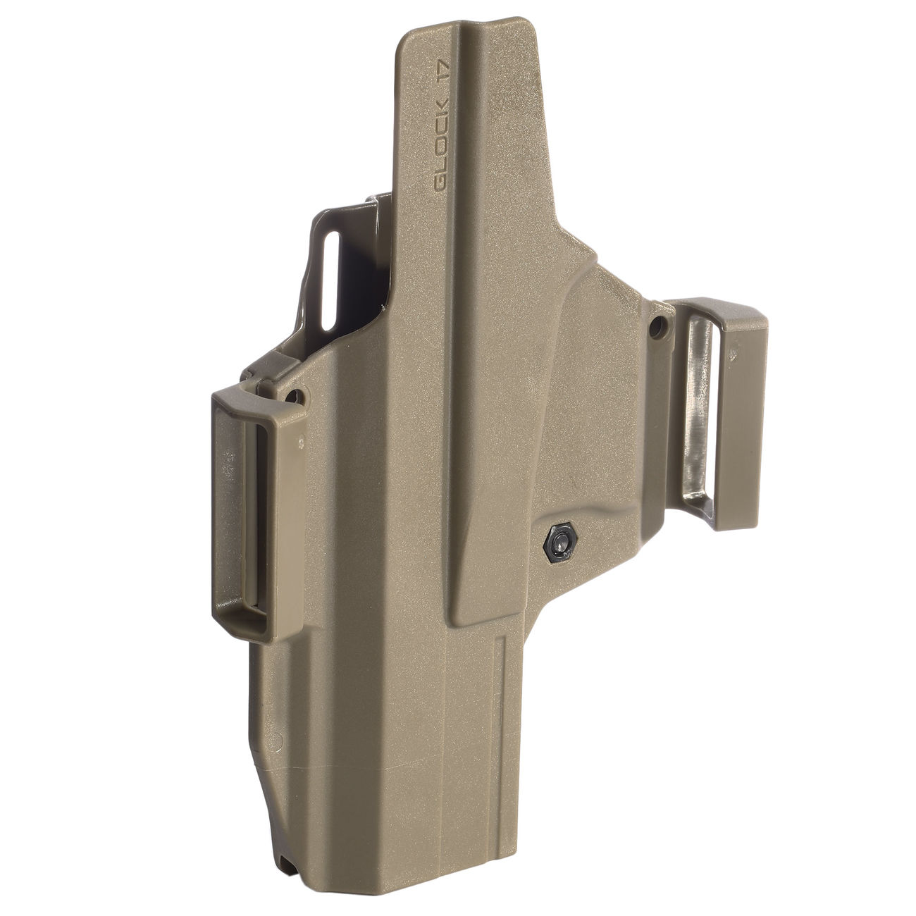 IMI Defense MORF X3 Polymer Holster IWB / OWB / Paddle für Glock 17 Rechts / Links Tan 5