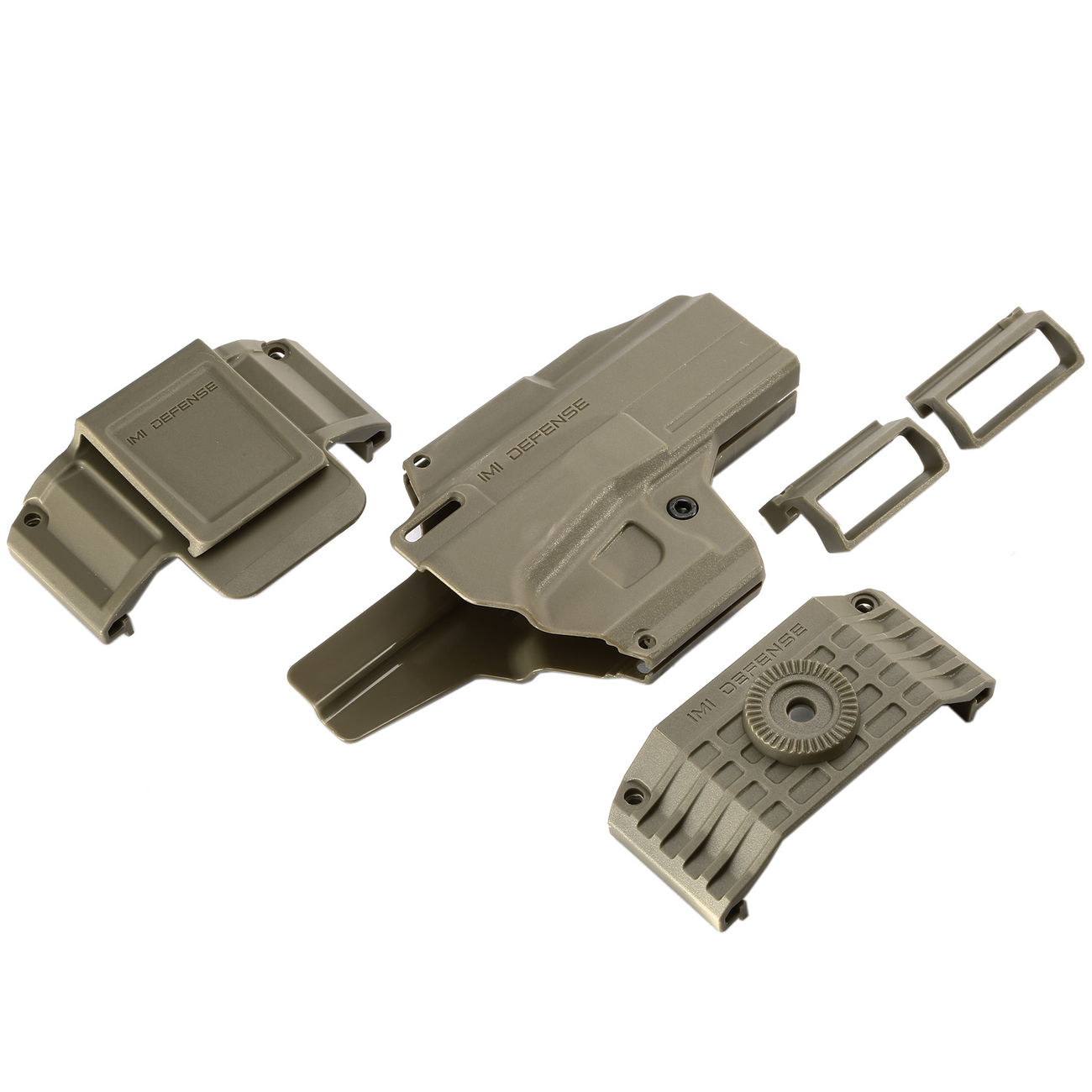IMI Defense MORF X3 Polymer Holster IWB / OWB / Paddle für Glock 17 Rechts / Links Tan 6