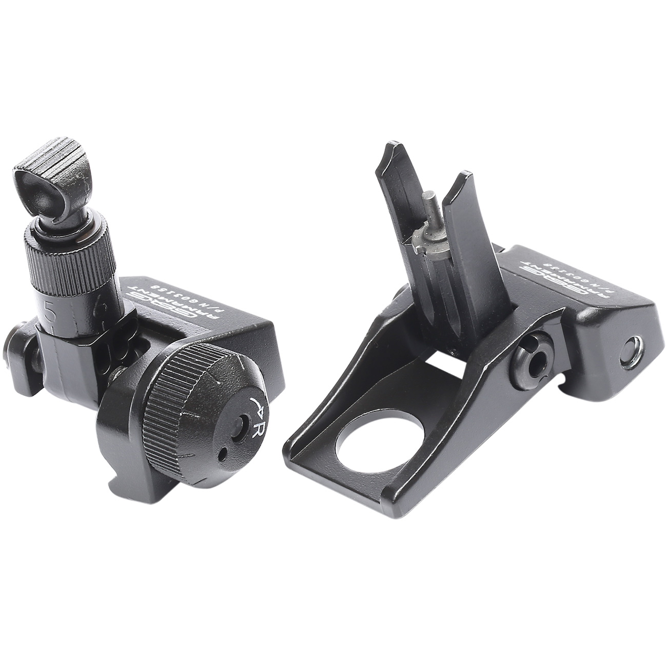 G&G Flip-Up Type-2 Sight Set Front / Rear für 21mm Schienen schwarz 1