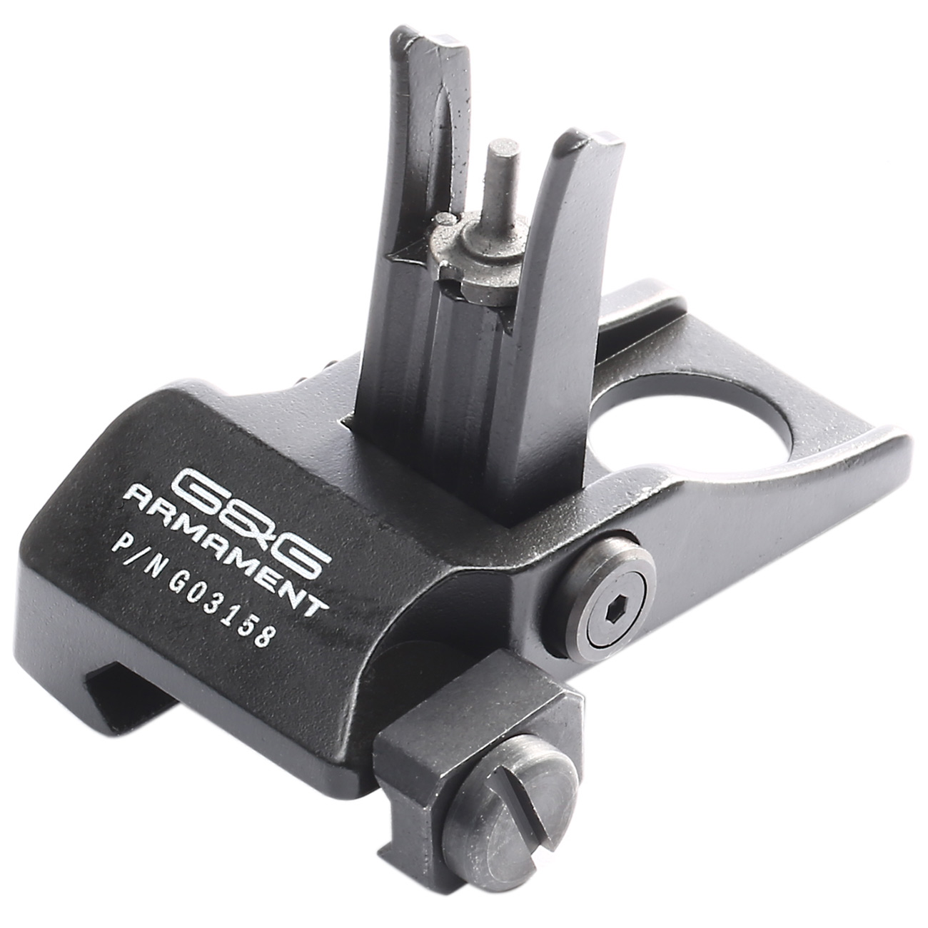 G&G Flip-Up Type-2 Sight Set Front / Rear für 21mm Schienen schwarz 3