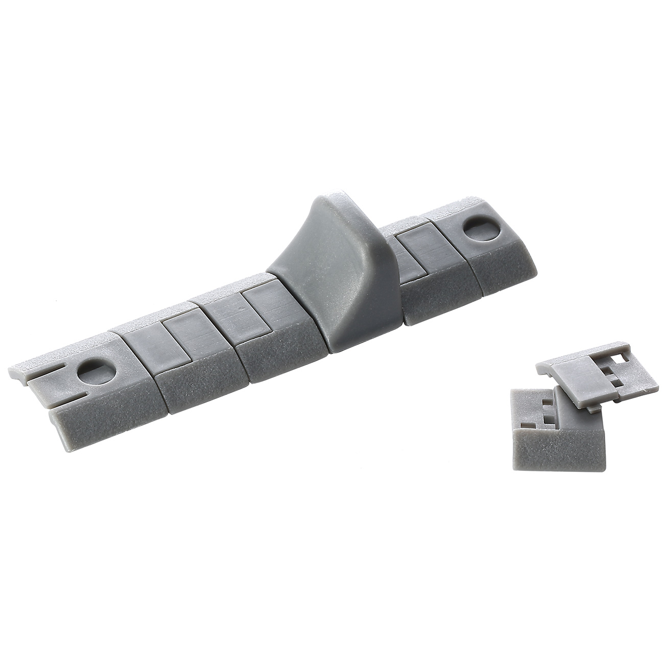 Strike Industries KeyMod Handstop / Rail Covers Set coyote grau 3
