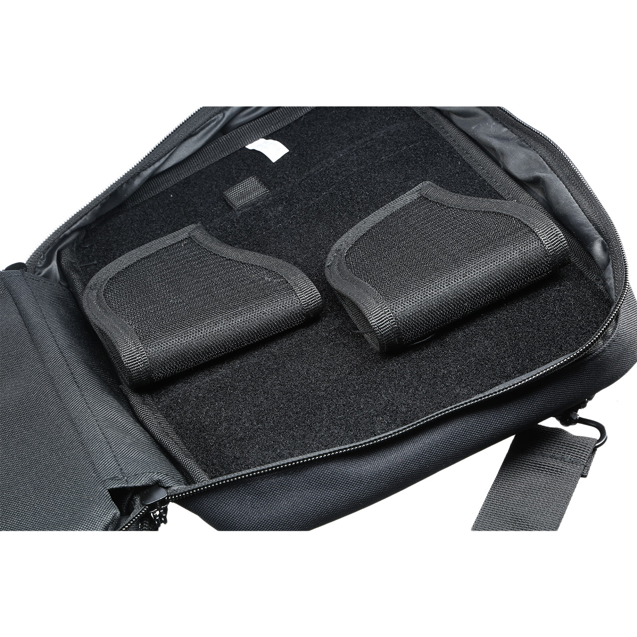 UTG Competition Shooter Double Pistol Case / Pistolentasche schwarz 5