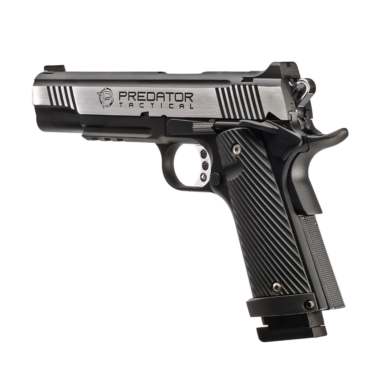 Ersatzteilset King Arms Predator Tactical Iron Shrike Vollmetall GBB 6mm BB 2 Tone - Rail Version 5