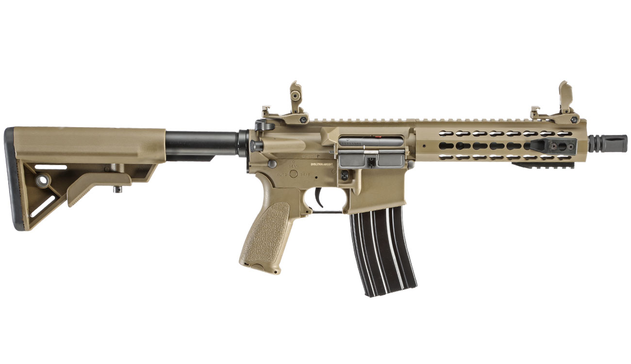 Evolution Airsoft Recon UX4 9 Zoll Carbontech S-AEG 6mm BB Tan 2