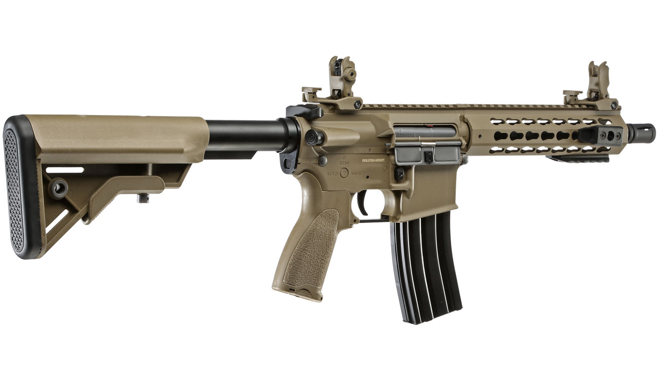 Evolution Airsoft Recon UX4 9 Zoll Carbontech S-AEG 6mm BB Tan 3
