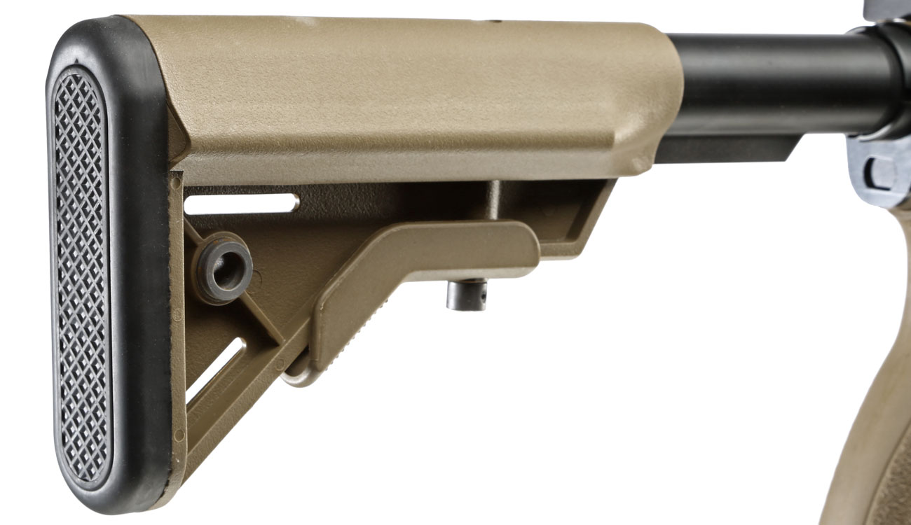 Evolution Airsoft Recon UX4 9 Zoll Carbontech S-AEG 6mm BB Tan 9