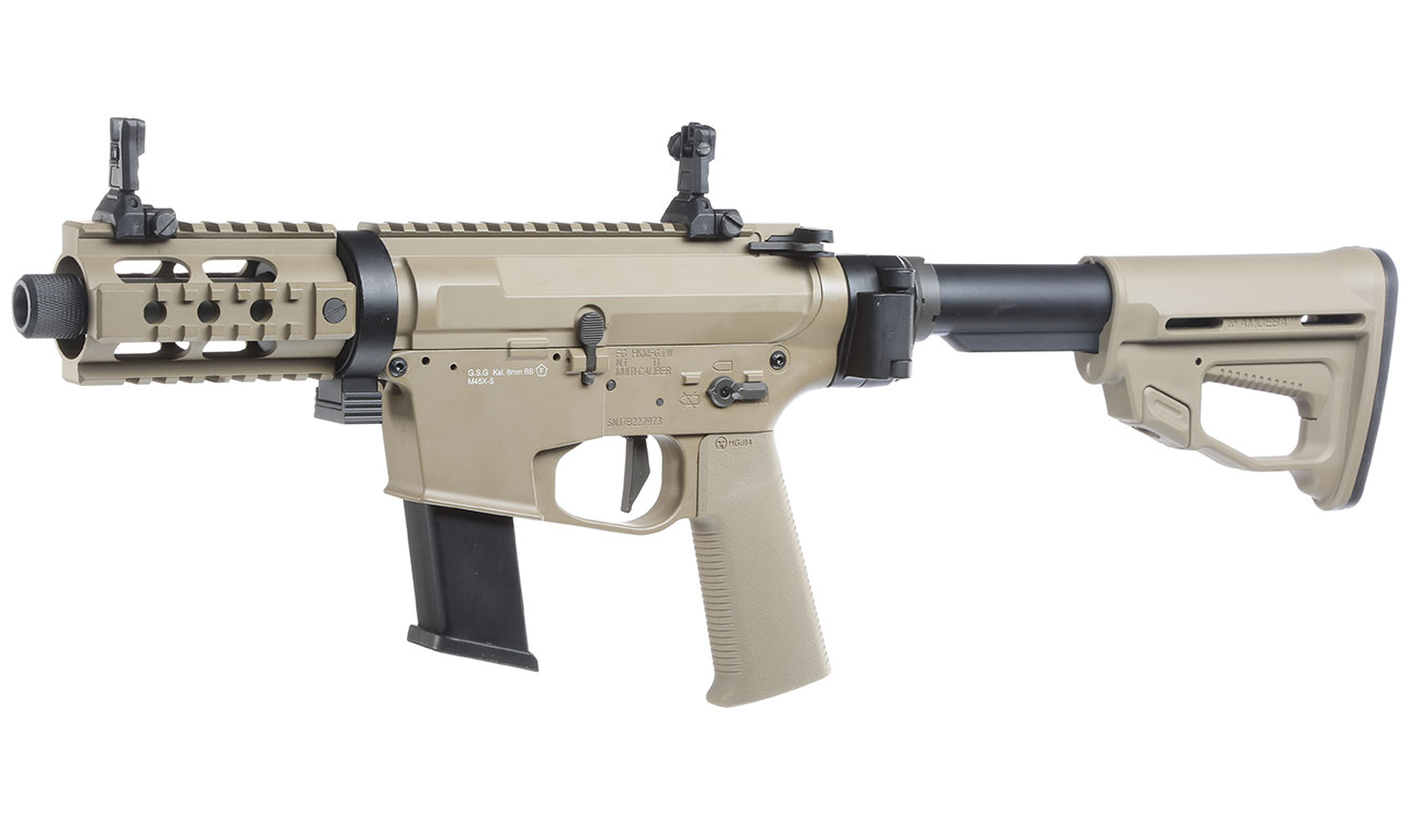 Ares M45X-S X-Class Vollmetall EFC-System S-AEG 6mm BB Dark Earth 0