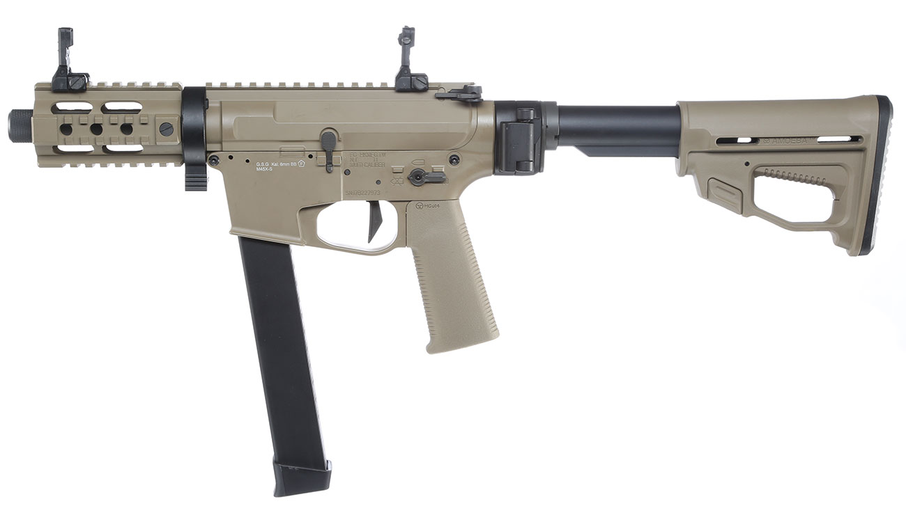 Ares M45X-S X-Class Vollmetall EFC-System S-AEG 6mm BB Dark Earth 1