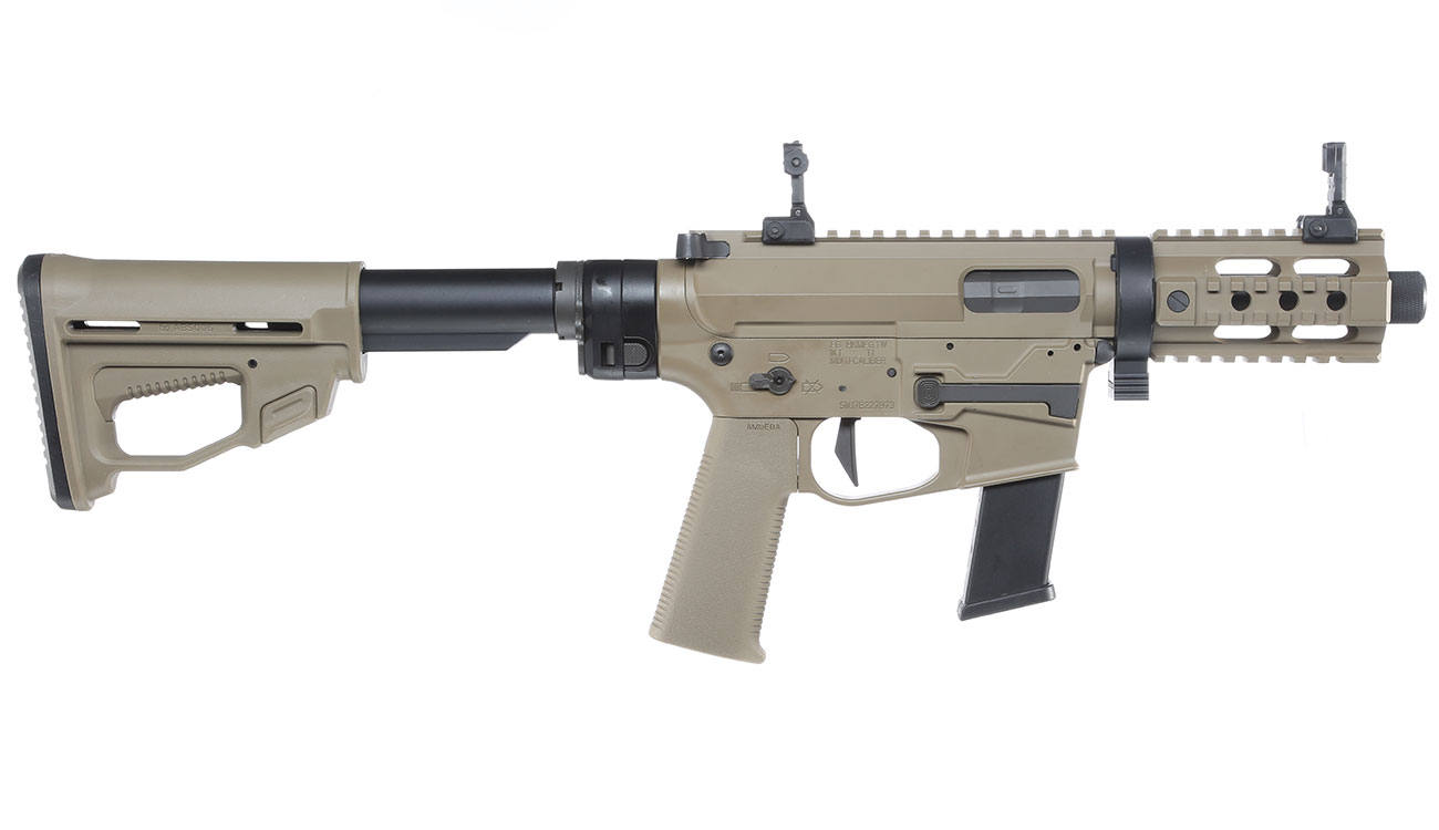 Ares M45X-S X-Class Vollmetall EFC-System S-AEG 6mm BB Dark Earth 2